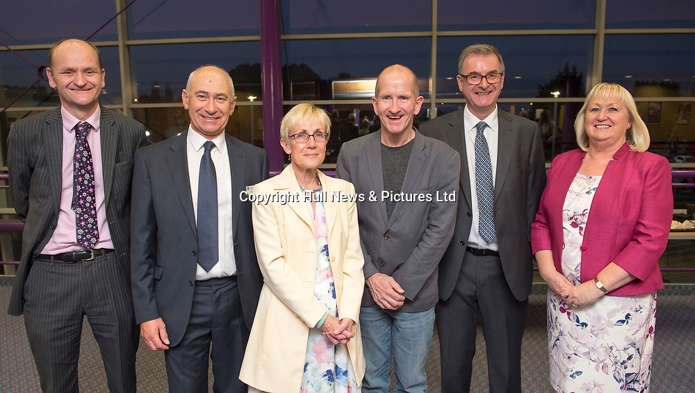 10 October 2018: Cleethorpes Academy Presentation Evening with guest speaker Eddie the Eagle who also visited the Academy during the day.<br /> Picture: Sean Spencer/Hull News & Pictures Ltd<br /> 01482 210267/07976 433960<br /> www.hullnews.co.uk         sean@hullnews.co.uk