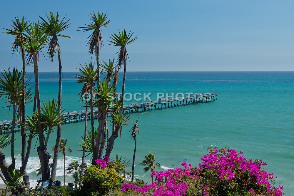 Ocean View and San Clemente Pier from the Casa Romantica