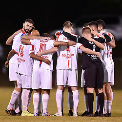 BRISBANE, AUSTRALIA - NOVEMBER 10:  during the Brisbane Premier League Round 1 catch up match between St George Willawong and Grange Thistle at St George's Park on November 10, 2020 in Brisbane, Australia. (Photo by Patrick Kearney)