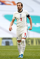 TIRANA, ALBANIA - MARCH 28: Harry Kane of England during the FIFA World Cup 2022 Qatar qualifying match between Albania and England at the Qemal Stafa Stadium on March 28, 2021 in Tirana, Albania. Sporting stadiums around Europe remain under strict restrictions due to the Coronavirus Pandemic as Government social distancing laws prohibit fans inside venues resulting in games being played behind closed doors (Photo by MB Media)