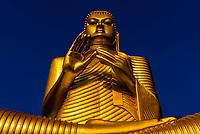 Giant Buddha statue,Golden Temple, Dambulla