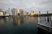 Darling Harbour. City Centre and Sydney Tower.