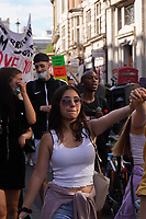 Black Lives Matter march through londonPhoto by Roger Alarcon