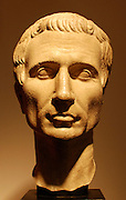 A First century bust of Gaius Julius Caesar