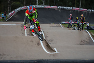 #143 (TORRES Exequiel) ARG at the 2016 UCI BMX Supercross World Cup in Santiago del Estero, Argentina