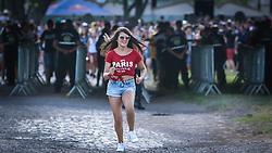 Os primeiros planetários correm para garantir os melhores lugares nos palcos da 22ª edição do Planeta Atlântida. O maior festival de música do Sul do Brasil ocorre nos dias 3 e 4 de fevereiro, na SABA, na praia de Atlântida, no Litoral Norte gaúcho.  Foto: Lucas Uebel / Agência Preview