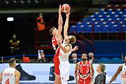 DENZEL ANDERSSON,Tarczewski?Kaleb<br /> A X Armani Exchange Milano - Openjobmetis Varese<br /> Basket Serie A LBA 2020/21<br /> Milano 10/09/2020<br /> Foto Ivan Mancini / Ciamillo-Castoria