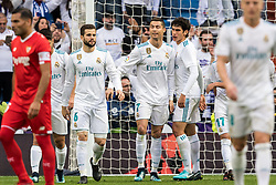 (M) Cristiano Ronaldo dos Santos Aveiro of Real Madrid during the La Liga Santander match between Real Madrid CF and Sevilla FC on December 09, 2017 at the Santiago Bernabeu stadium in Madrid, Spain.