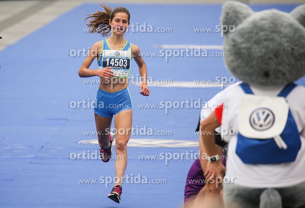 Winner Laura Stauber at 10km Run at 21st Ljubljana Marathon 2016, on October 30, 2016 in Ljubljana, Slovenia. Photo by Vid Ponikvar / Sportida