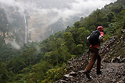 Chachapoyas, Peru - With two drops totaling about 700 meters. Gocta waterfall - located in Chachapoyas in the Northern part of Peru is generally thought of as one of the top ten waterfalls in the world.