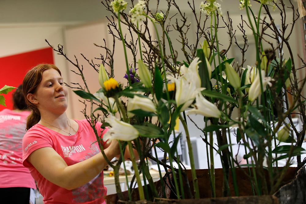 Florist/in EFZ / Fleuriste CFC / Fiorista (AFC) / SFV - Schweizerischer Floristenverband / Association Suisse des Fleuristes / Associazione Svizzera dei Fioristi<br /> ©  Stefan Wermuth