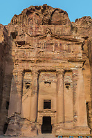 Urn Tomb in Nabatean Petra Jordan middle east