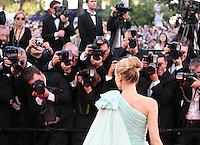 Actress Diane Kruger attending the gala screening of the film Moonrise Kingdom at the 65th Cannes Film Festival. Wednesday 16th May 2012, the red carpet at Palais Des Festivals in Cannes, France.