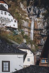 THEMENBILD - Wasserfall während der Corona Pandemie, aufgenommen am 17. April 2019 in Hallstatt, Österreich // Waterfall during the Corona Pandemic in Hallstatt, Austria on 2020/04/17. EXPA Pictures © 2020, PhotoCredit: EXPA/ JFK