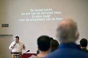 Nederland, Wijchen, 29-11-2015Evangelische gemeente Parousia, onderdeel van de ABC kerk.Alliantie van Baptisten en CAMA gemeenten.Foto: Flip Franssen