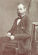 Lord Randolph Spencer Churchill (1849-1895) English Conservative politician. Secretary of State for India 1885, Chancellor of the Exchequer 1886. Father of Winston Churchill.