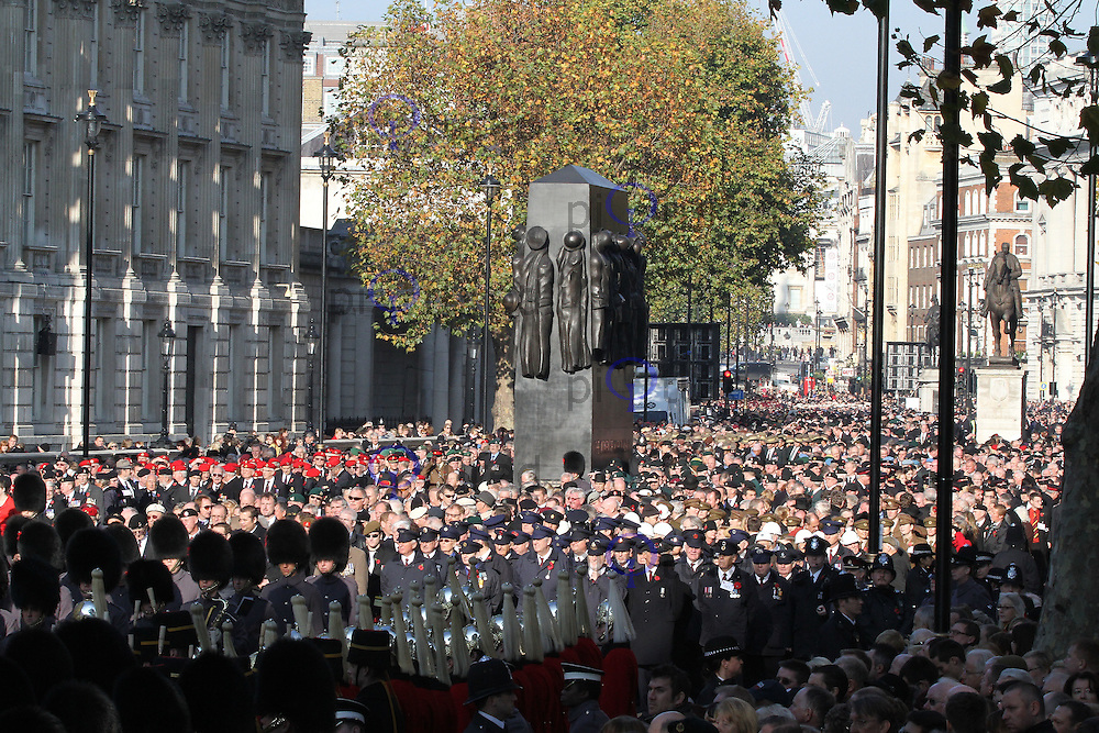 War Veterans Remembrance Sunday - Cenotaph Service, Whitehall, London, UK. 13 November 2011. Contact rich@pictured.com +44 07941 079620 (Picture by Richard Goldschmidt)