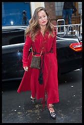 March 5, 2016 - London, United Kingdom - Image licensed to i-Images Picture Agency. 05/03/2016. London, United Kingdom. Jade Jagger arriving at  the wedding blessing of Rupert Murdoch and Jerry Hall at St.Bride's church in London.  Picture by Stephen Lock / i-Images (Credit Image: © Stephen Lock/i-Images via ZUMA Wire)