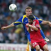 Turkey's Sabri SARIOGLU (F) during their UEFA EURO 2012 Qualifying round Group A soccer match Turkey betwen Kazakhstan at TT Arena Istanbul September 02, 2011. Photo by TURKPIX