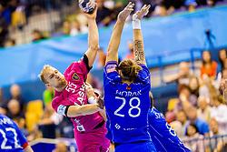 Ziga Mlakar of RK Celje Pivovarna Lasko during handball match between RK Celje Pivovarna Lasko and HC Meshkov Brest in Group Phase A+B of VELUX EHF Champions League, on October 14, 2017 in Arena Zlatrog, Celje, Slovenia.  Photo by Ziga Zupan / Sportida