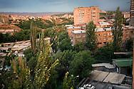 View for Yerevan Soviet Housing Complex  Masive.