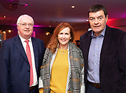 25/09/2018 Repro free:  Peter Allen Chairman Galway Race Course Committee  with Pauline and John McIntyre at the launch of Galway Racecourse  details of their new and exciting three-day October Festival that takes place over the Bank Holiday weekend, Saturday 27th, Sunday 28th and Monday 29th continuing racing and glamour into the Autumn.<br />   Each of the three race days offers something for all the family to enjoy, with a special theme attached to each day, together with fantastic horse racing, live music, delicious hospitality, entertainment and of course the meeting of old friends and new at Ballybrit.  <br /> Halloween Family Fun <br /> On Saturday 27th October come along with your children and grand children and enjoy the 'Spooktacular' Halloween themed family fun day with lots of entertainment including a fancy-dress competition, Halloween games and face painting to mention but a few!! All weekend children under 16 years of age have free admission. <br /> Race in Pink <br /> As part of this new October Festival and with-it being Breast Cancer Awareness month, Galway Racecourse have partnered with The National Breast Cancer Research Institute to host a dedicated fundraiser on Sunday 28th October called 'Race in Pink'.  <br /> <br /> Student Race Day in aid of the Voluntary Services Abroad <br /> Monday sees the return of our annual 'Student Race Day' in conjunction with the Voluntary Services Abroad (a medical aid charity run by the fourth-year medical students of NUI, Galway), and the NUIG Rugby Club.  Each year, this fundraising day for the student organisations raises a tremendous amount of money for their chosen projects including the VSA annual summer volunteer trip to Africa where they use the funds raised to help projects at the hospitals they visit. <br />  National hunt racing on Saturday kicks off at 2.05pm with racing Sunday and Monday off at 1.05pm. Adult admission on all three days is €15 with children under 16 years of age, free. For more infor