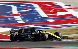 November 2, 2019, Austin, United States of America: Motorsports: FIA Formula One World Championship 2019, Grand Prix of United States, .#3 Daniel Ricciardo (AUS, Renault F1 Team) (Credit Image: © Hoch Zwei via ZUMA Wire)