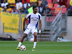James Okwuosa of Chippa United during the 1st leg of the MTN8 Semi Final between Chippa United and Mamelodi Sundowns held at the Nelson Mandela Bay Stadium in Port Elizabeth, South Africa on the 11th September 2016<br /><br />Photo by: Richard Huggard / Real Time Images