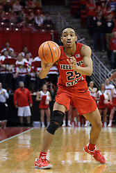 21 February 2018:  Madison Williams during a College mens basketball game between the Drake Bulldogs and Illinois State Redbirds in Redbird Arena, Normal IL