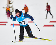 The 2021 Yukon Cross Country Ski Championships were held at Mt MacIntyre Recreation Centre on February 20, 2021. Beginning and ending in the stadium, racers skate skied a course whose length varied according to age group.