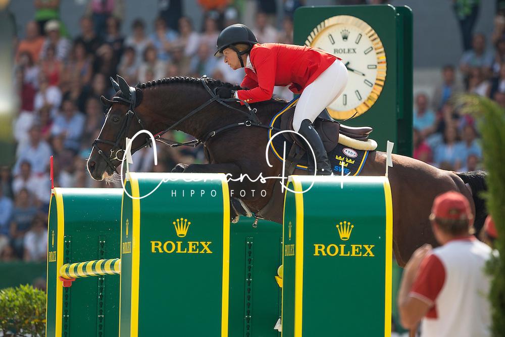 Beezie Madden, (USA), Casall Ask - Show Jumping Final Four - Alltech FEI World Equestrian Games™ 2014 - Normandy, France.<br /> © Hippo Foto Team - Leanjo de Koster<br /> 07-09-14