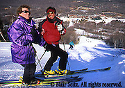 Poconos Skiing, Young Adult Couple, Poconos, NE PA