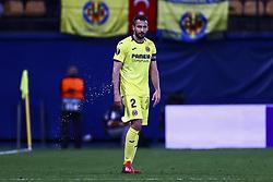 March 14, 2019 - Villarreal, Spain - Mario Gaspar of Villarreal CF during UEFA Europa league match between Villarreal CF vs Zenit  at La Ceramica Stadium on March 14, 2019. (Credit Image: © Jose Miguel Fernandez/NurPhoto via ZUMA Press)