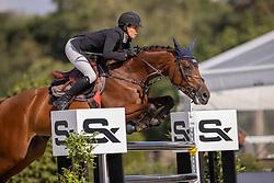 Carton-Grootjans Ann, BEL, Kai Licha de Carmel<br /> Belgisch Kampioenschap Jumping  <br /> Lanaken 2020<br /> © Hippo Foto - Dirk Caremans<br /> 02/09/2020