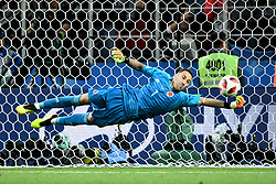 David Ospina in action during the 1/8 Final Game between Colombia and England at the 2018 FIFA World Cup in Moscow, Russia on July 3, 2018. Photo by Lionel Hahn/ABACAPRESS.COM