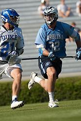 26 April 2009: North Carolina Tar Heels defenseman Jack Ryan (32) during a 15-13 loss to the Duke Blue Devils during the ACC Championship at Kenan Stadium in Chapel Hill, NC.