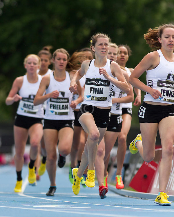 adidas Grand Prix track & field: high school girls Dream Mile, Finn