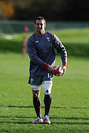 Sam Warburton of Wales in action. Wales rugby team training  at the Vale resort, Hensol, near Cardiff , South Wales on Tuesday 12th November 2013. pic by Andrew Orchard, Andrew Orchard sports photography,