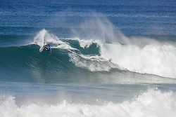 October 12, 2017 - Jeremy Flores of France will surf in Round Two of the 2017 Quiksilver Pro France after placing second in Heat 8 of Round One at Hossegor. (Credit Image: © WSL via ZUMA Press)