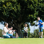 Live Well Magazine photoshoot with Breanna, Mason, Janessa, and Brandon Janssen at Meadowlark Golf Course in Huntington Beach, California on March 18, 2018.  ©Moontide Media. Photography by Michael Der.