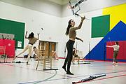 Shadow Indoor Percussion and Shadow Winterguard perform in Oregon, Wisconsin on April 2, 2019. <br /> <br /> Beth Skogen Photography - www.bethskogen.com