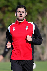 January 6, 2018 - Cadiz, SPAIN - Mouscron's Benjamin Van Durmen pictured during the first day of the winter training camp of Belgian first division soccer team Royal Excel Mouscron, in Cadiz, Spain, Saturday 06 January 2018. BELGA PHOTO BRUNO FAHY (Credit Image: © Bruno Fahy/Belga via ZUMA Press)