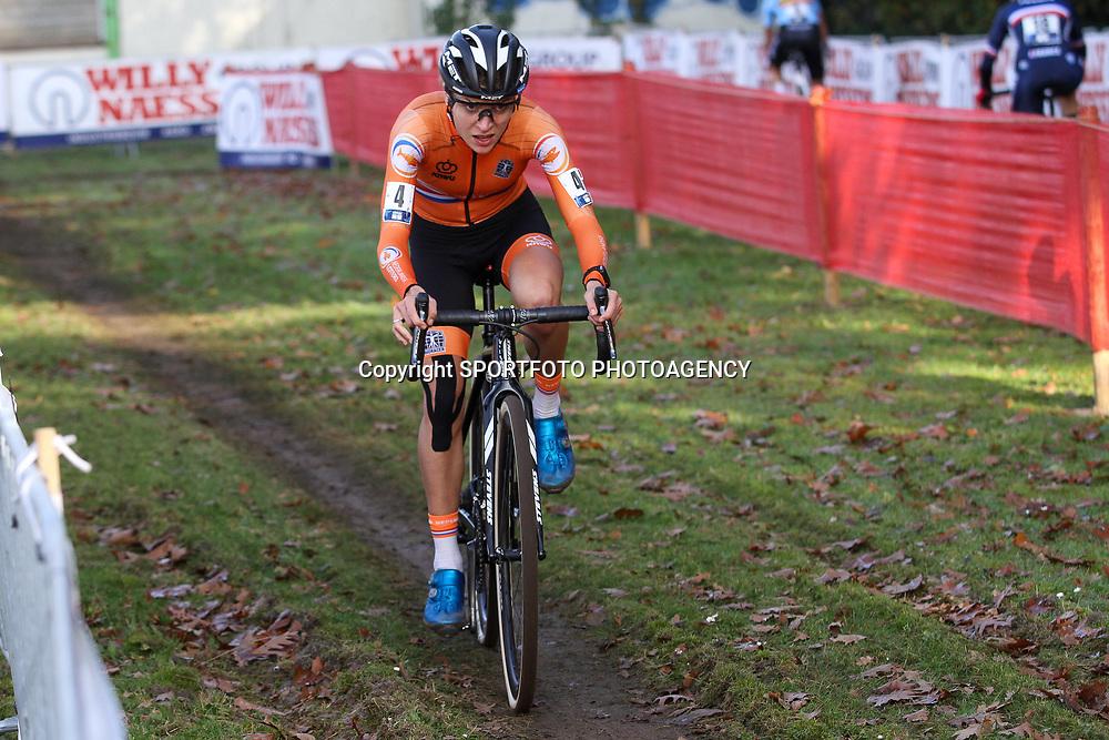 07-11-2020: Wielrennen: EK Veldrijden: Rosmalen. <br />Yara KLastelijn