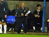 Fotball<br /> Championship England 2004/05<br /> Reading v Leeds United<br /> 19. oktober 2004<br /> Foto: Digitalsport<br /> NORWAY ONLY<br /> Kevin Blackwell (Leeds Manager)