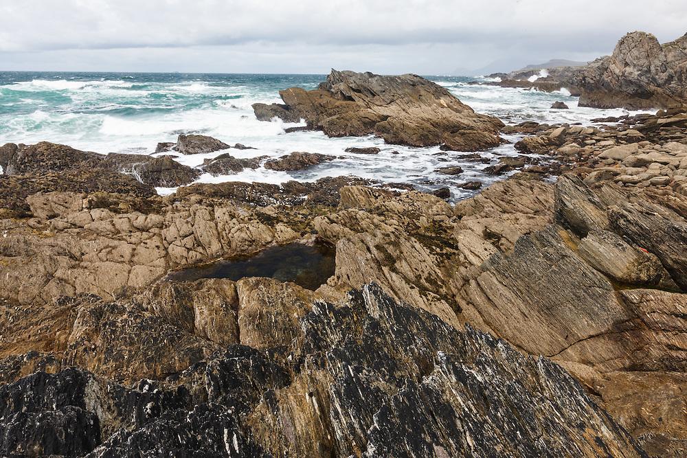Atlantic coast along Achill Island, County Mayo, Ireland