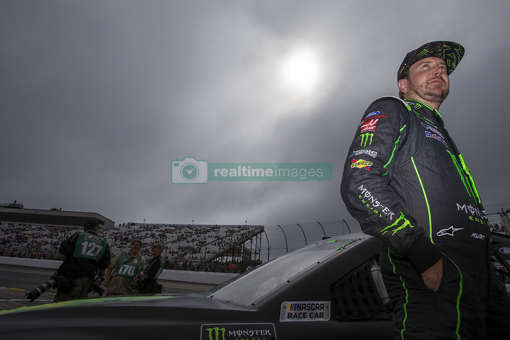 July 22, 2018 - Loudon, New Hampshire, United States of America - Kurt Busch (41) gets ready for the Foxwoods Resort Casino 301 at New Hampshire Motor Speedway in Loudon, New Hampshire. (Credit Image: © Stephen A. Arce/ASP via ZUMA Wire)
