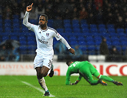 Ryan Sessegnon of Fulham scores a goal making it 1-3  - Mandatory by-line: Nizaam Jones/JMP- 26/12/2017 -  FOOTBALL - Cardiff City Stadium - Cardiff, Wales -  Cardiff City v Fulham - Sky Bet Championship