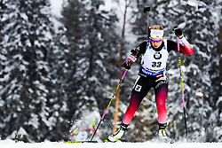 March 8, 2019 - –Stersund, Sweden - 190308 Ingrid Landmark Tandrevold of Norway competes in the Women's 7.5 KM sprint during the IBU World Championships Biathlon on March 8, 2019 in Östersund..Photo: Petter Arvidson / BILDBYRÃ…N / kod PA / 92247 (Credit Image: © Petter Arvidson/Bildbyran via ZUMA Press)