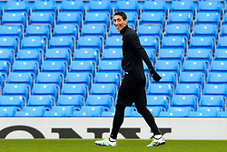 Angel di Maria of PSG trains  - Mandatory byline: Matt McNulty/JMP - 07966386802 - 11/04/2016 - FOOTBALL - Manchester City v PSG - Etihad Stadium -Manchester,England - UEFA Champions League
