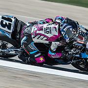 August 3, 2013 - Tooele, UT - Melissa Paris competes in Daytona Sportbike Race 1 at Miller Motorsports Park.